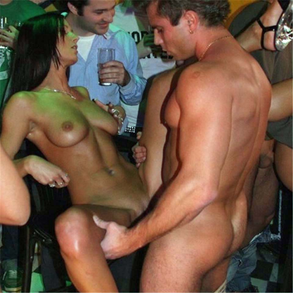 fucking in a bar