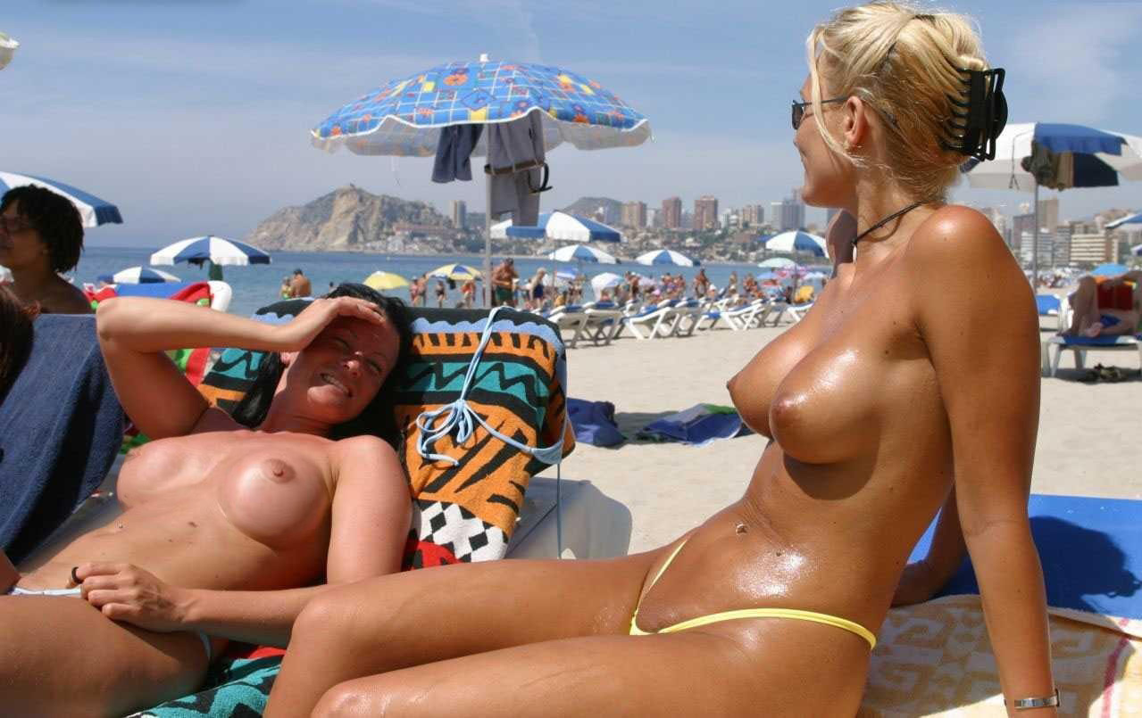 Bikini wives slutty beach