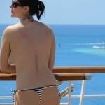 bikini cruise topless 10-12-13