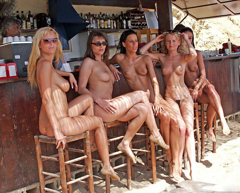 Swingers club nude