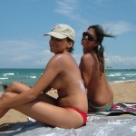 american girls topless europe beach