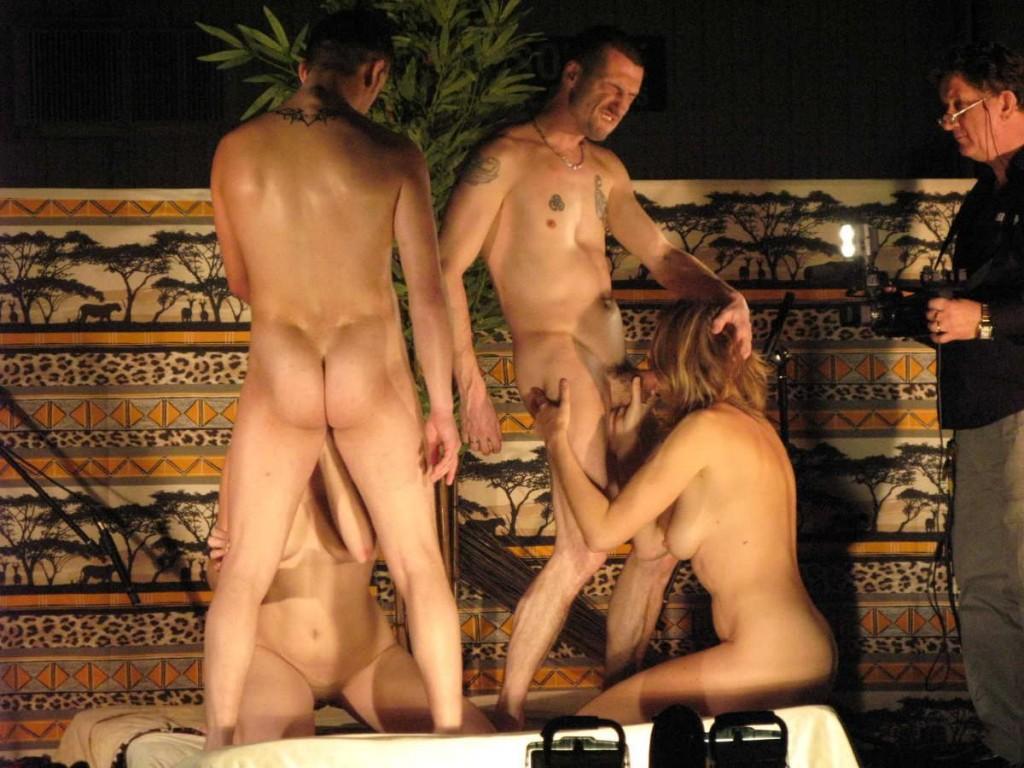 nude resort orgy