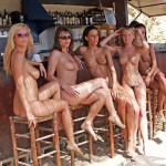 topless beach bar nude swinger wives